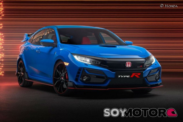 Honda Civic Type R 2020: retoques e idéntica potencia - SoyMotor.com