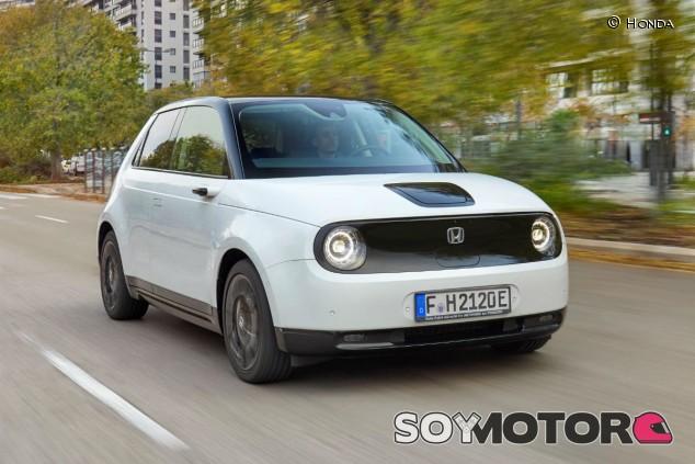 Honda e: 150 caballos de potencia eléctrica urbana - SoyMotor.com