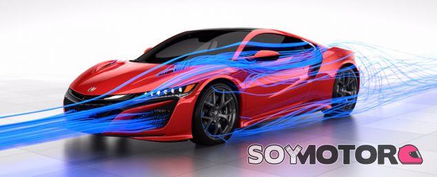 El secreto del nuevo Honda NSX: La gestión integral del flujo de aire