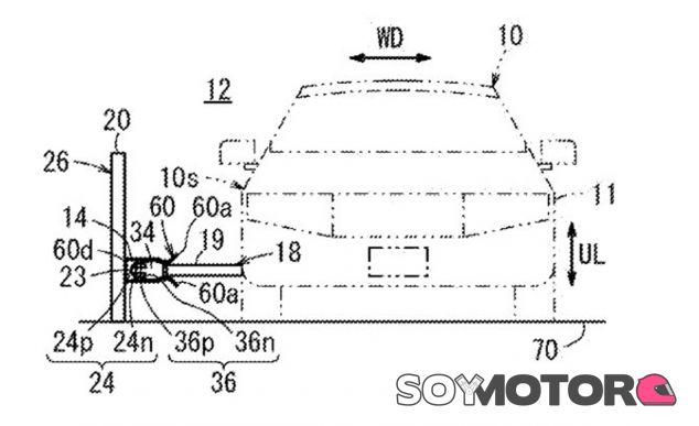 Esta es la patente filtrada que hace referencia al nuevo sistema de carga de Honda - SoyMotor