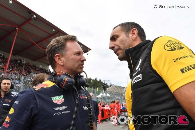 Christian Horner y Cyril Abiteboul - SoyMotor.com
