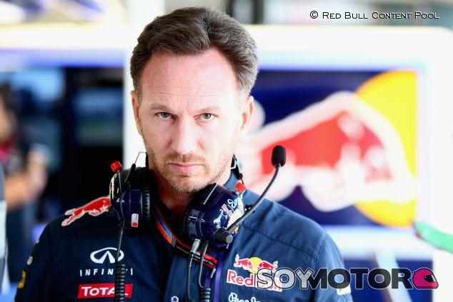 A Horner se le ve bastante enfadado con el rendimiento del motor Renault - LaF1