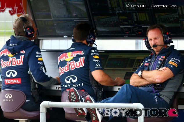 Christian Horner en el muro de Red Bull en Austria - LaF1