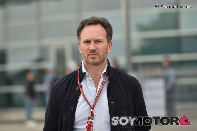 Christian Horner en Shanghái - SoyMotor.com