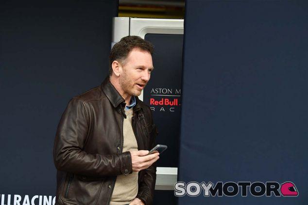 Christian Horner en Barcelona - SoyMotor.com