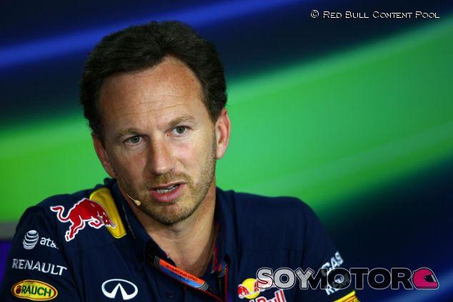 Christian Horner en la rueda de prensa de la FIA en Hungría - LaF1