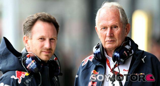 Horner y Marko durante un Gran Premio en 2016 - SoyMotor