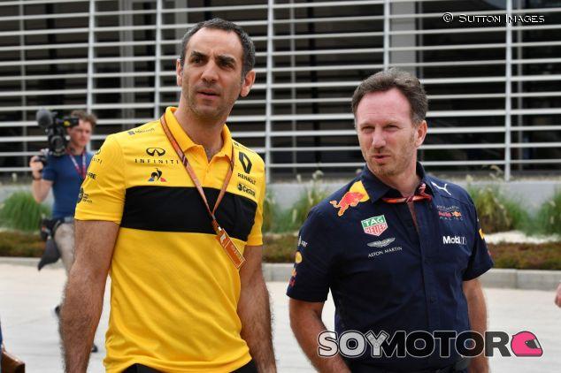Cyril Abiteboul (izq.) y Christian Horner (der.) – SoyMotor.com