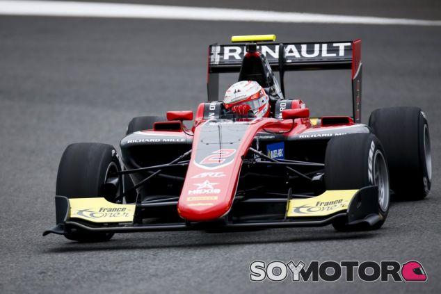 Hubert en los test de pretemporada - SoyMotor.com