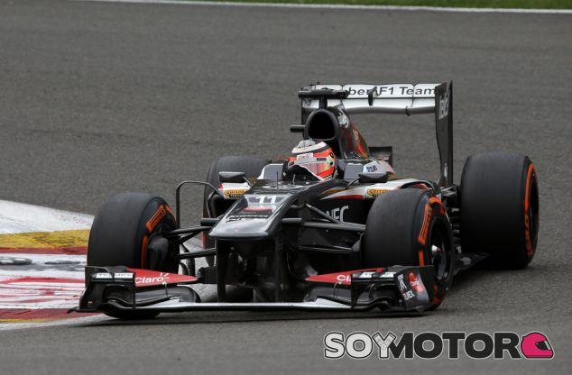 Nico Hulkenberg en el Sauber C32