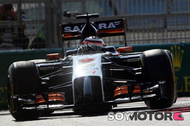 Nico Hülkenberg en su Force India - LaF1