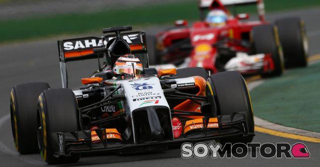 Force India en el GP de Australia F1 2014: Domingo