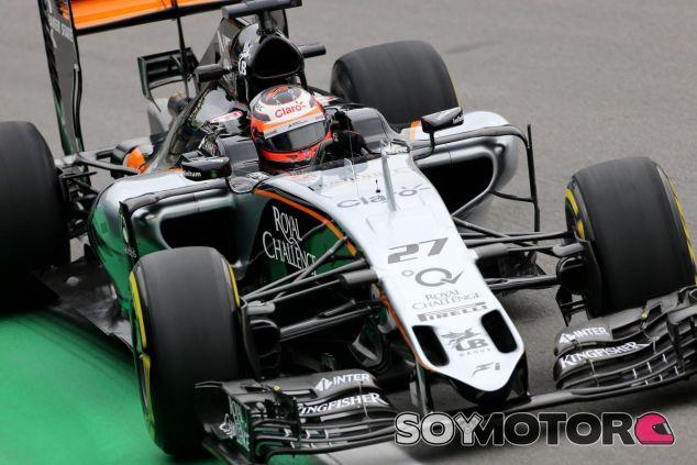 Hülkenberg no está del todo contento con el equilibrio del Force India - LaF1