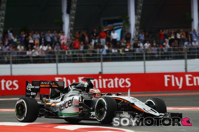 Hülkenberg, por detrás de Pérez en la clasificación del GP de México - LaF1
