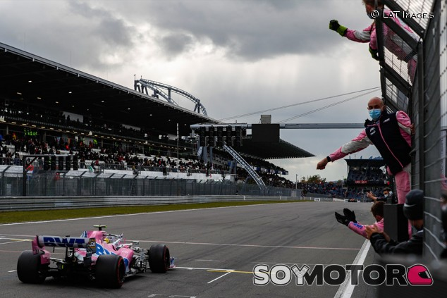 Racing Point atribuye a Hülkenberg las mejoras en la suspensión - SoyMotor.com