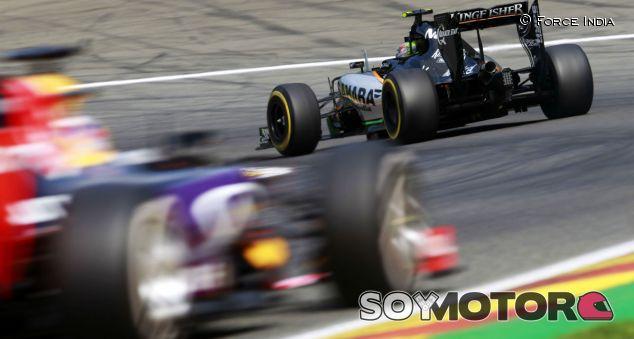 Sergio Pérez en el Gran Premio de Bélgica - LaF1