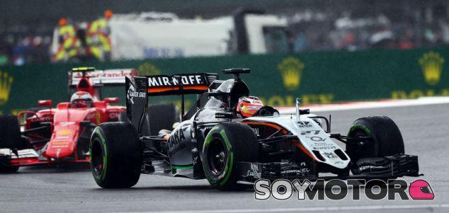 Nico Hülkenberg en el pasado Gran Premio de Gran Bretaña - LaF1