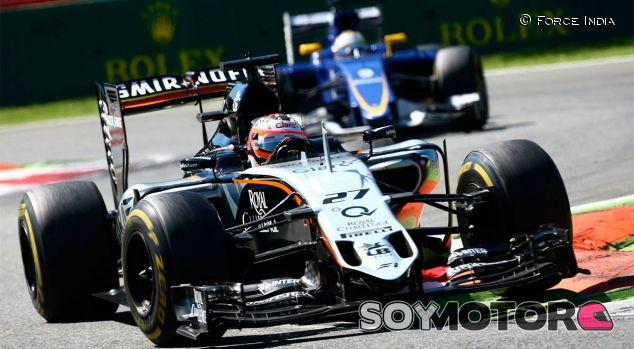 Nico Hülkenberg en el Gran Premio de Italia - LaF1