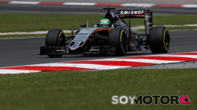 Force India ha bloqueado la cuarta fila de la parilla - LaF1