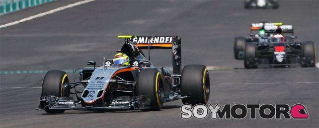 Sergio Pérez en Malasia - LaF1