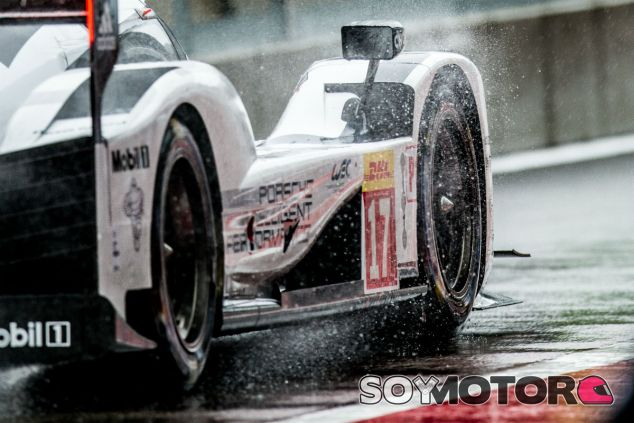 Detalle del Porsche º17, hermano del º19 que llevaba Hülkenberg en las 6 horas de Spa-Francorchamps - LaF1