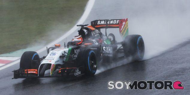 Force India en el GP de Japón F1 2014: Domingo