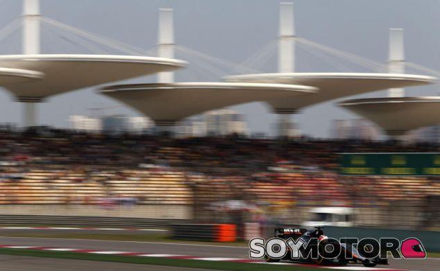 Nico Hulkenberg corriendo en Shanghai - LaF1.es