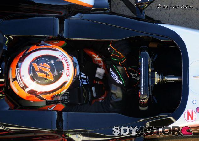 Nico Hülkenberg al volante del Force India - LaF1