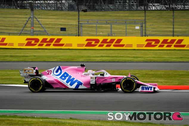 Racing Point en el GP del 70º Aniversario F1 2020: Sábado