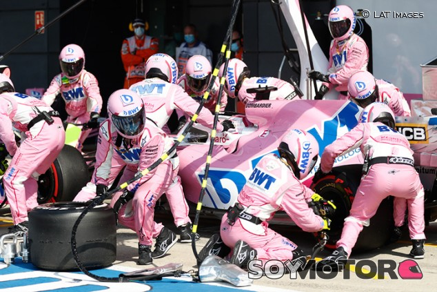 Racing Point en el GP del 70º Aniversario F1 2020: Domingo - SoyMotor.com