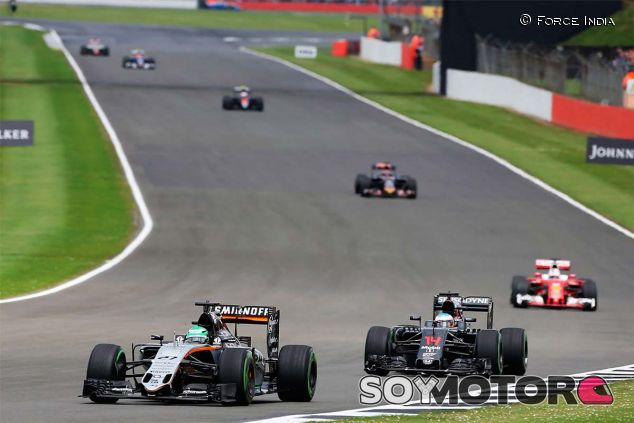 Nico Hülkenberg en Silverstone - LaF1