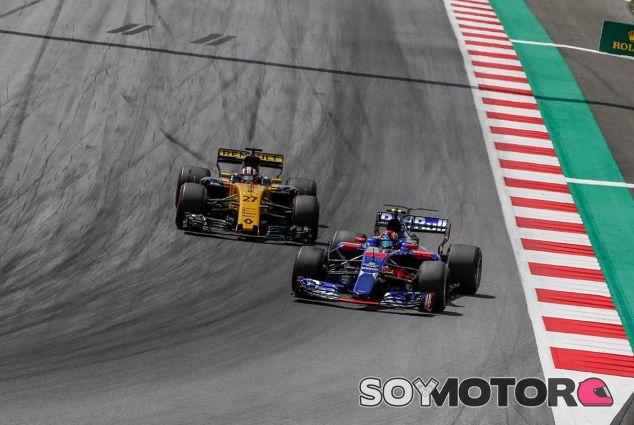 Nico Hülkenberg y Carlos Sainz en Red Bull Ring - SoyMotor.com
