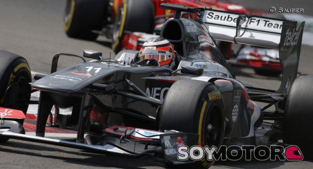 Nico Hülkenberg en el GP de Alemania F1 2013