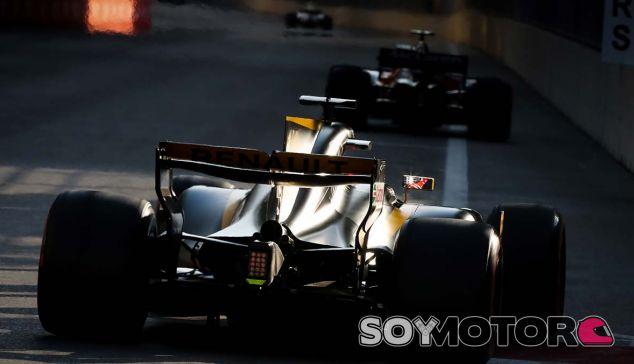 Renault en el GP de Azerbaiyán F1 2017: Viernes - SoyMotor.com