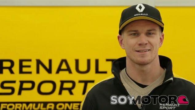 Hülkenberg ya luce como piloto Renault - SoyMotor