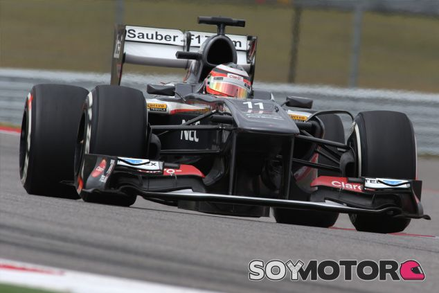 Nico Hülkenberg a los mandos de su Sauber - LaF1