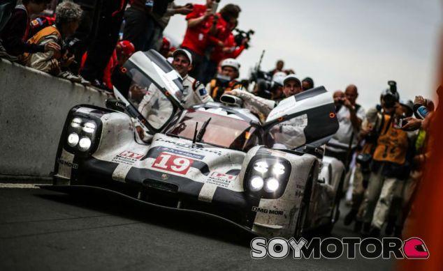 Nico Hülkenberg tras vencer las 24 horas de Le Mans - LaF1