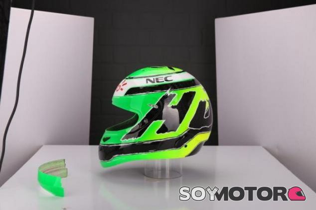 Nico Hülkenberg cambiará de casco por primera vez desde que debutó en la Fórmula 1 - LaF1