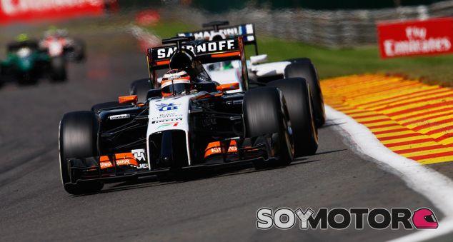Force India en el GP Italia F1 2014: Previo