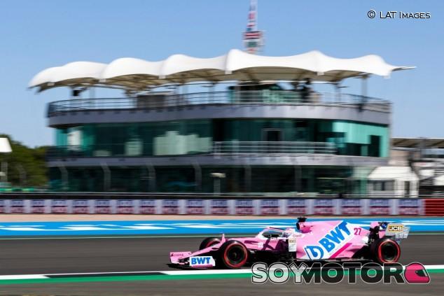 Racing Point en el GP del 70º Aniversario F1 2020: Viernes - SoyMotor.com