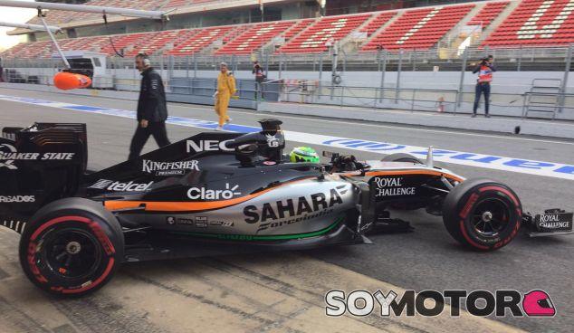 El VJM09 ha dejado muy buen sabor de boca a Nico Hülkenberg - LaF1