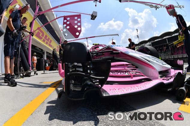 VJM11 de Force India en Hungaroring - SoyMotor.com