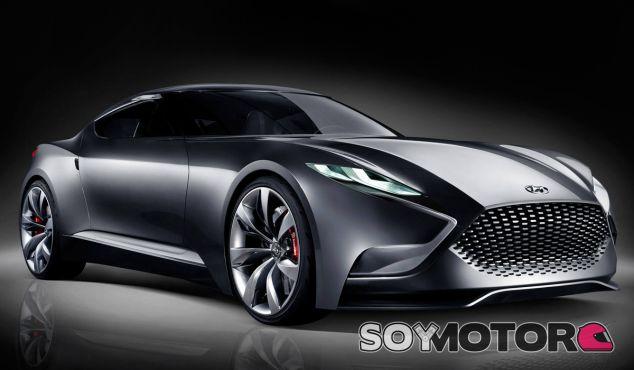 Las imágenes correspoden al Hyundai HND-9 Concept - SoyMotor