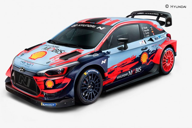 Hyundai presenta su nuevo i20 Coupe WRC: esfuerzo extra - SoyMotor.com
