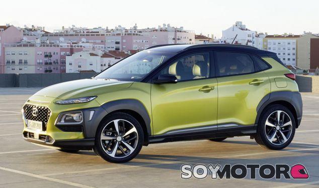 El Hyundai Kona es el primer modelo de esta ofensiva SUV de la firma coreana - SoyMotor