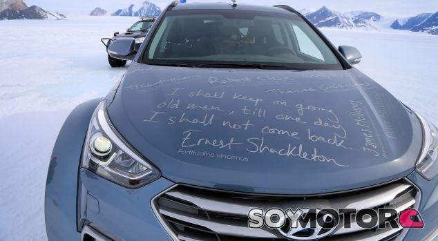 Cruzar la Antártida en un Hyundai Santa Fe: hecho - SoyMotor.com