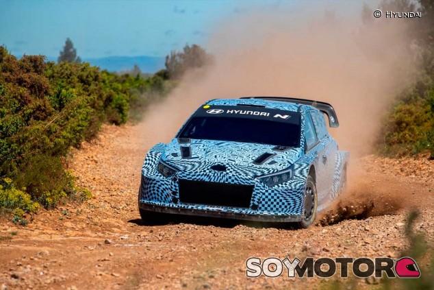 El nuevo Hyundai Rally 1, de test en Francia - SoyMotor.com