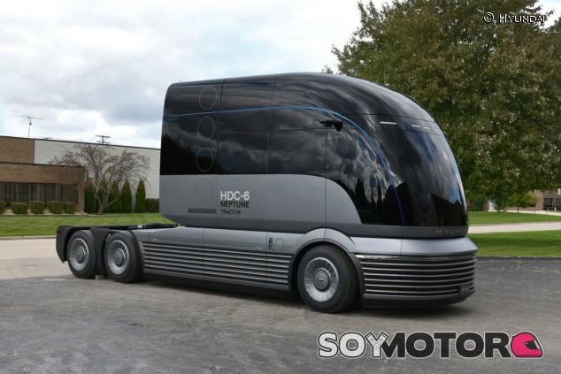 Hyundai HDC-6 Neptune: camión impulsado por hidrógeno - SoyMotor.com