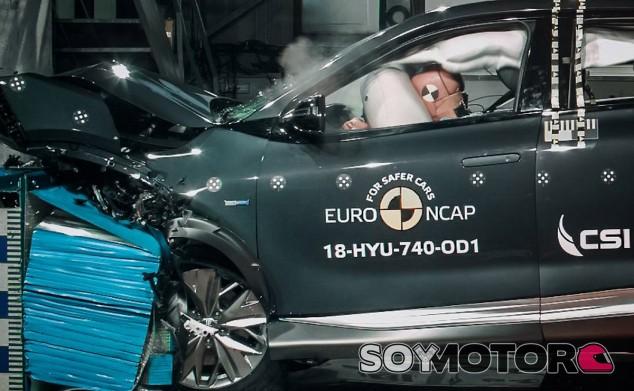 Test de choque Euro NCAP del Hyundai Nexo - SoyMotor.com