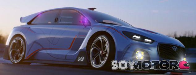 Hyundai RN30 Concept en acción - SoyMotor.com
